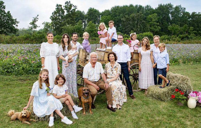 ¡La foto más esperada !: el reencuentro de verano de toda la Familia Real Sueca 1