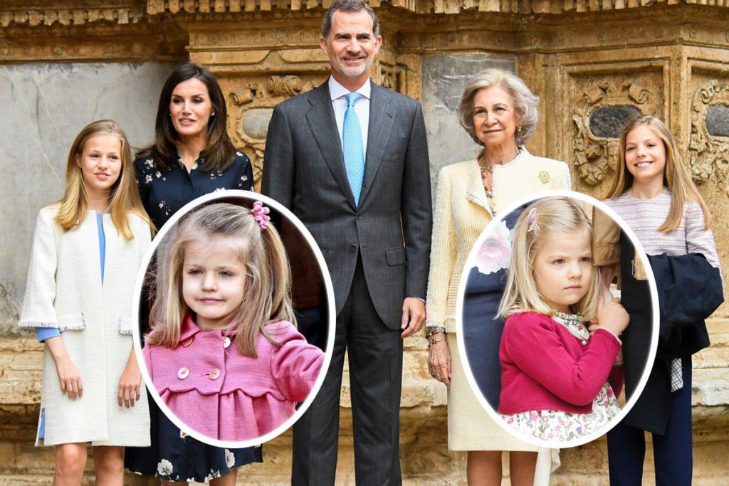 10 años del Domingo de Ramos de los Reyes en imágenes: así es como Leonor y Sofía han crecido 1