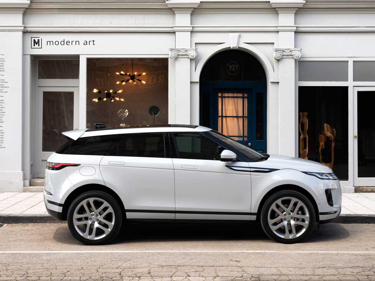 El Nuevo Range Rover Evoque es la elección perfecta para la ciudad y fuera de ella.