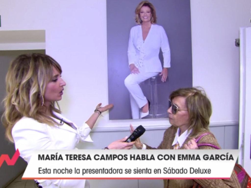 La emoción de María Teresa Campos en su regreso a Telecinco 2