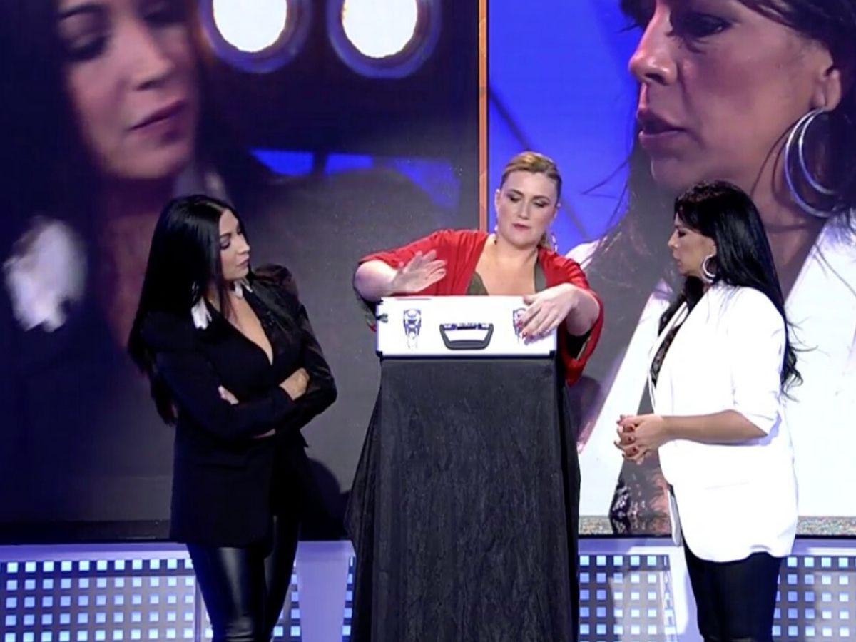 "'La isla de las tentaciones', Acedera, contra Fani: ""mira a tu padre"" 1"
