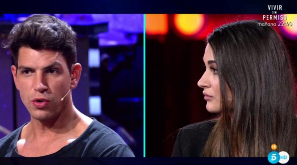 """La tensa reunión entre Estela y Diego Matamoros: """"Es un mal momento"""" 1"""