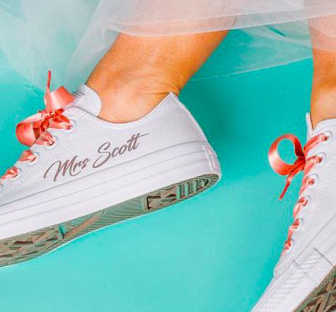 ¿Te vas a casar pronto? Converse ahora ofrece zapatillas personalizadas 1