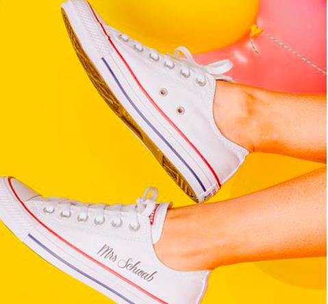¿Te vas a casar pronto? Converse ahora ofrece zapatillas personalizadas 2