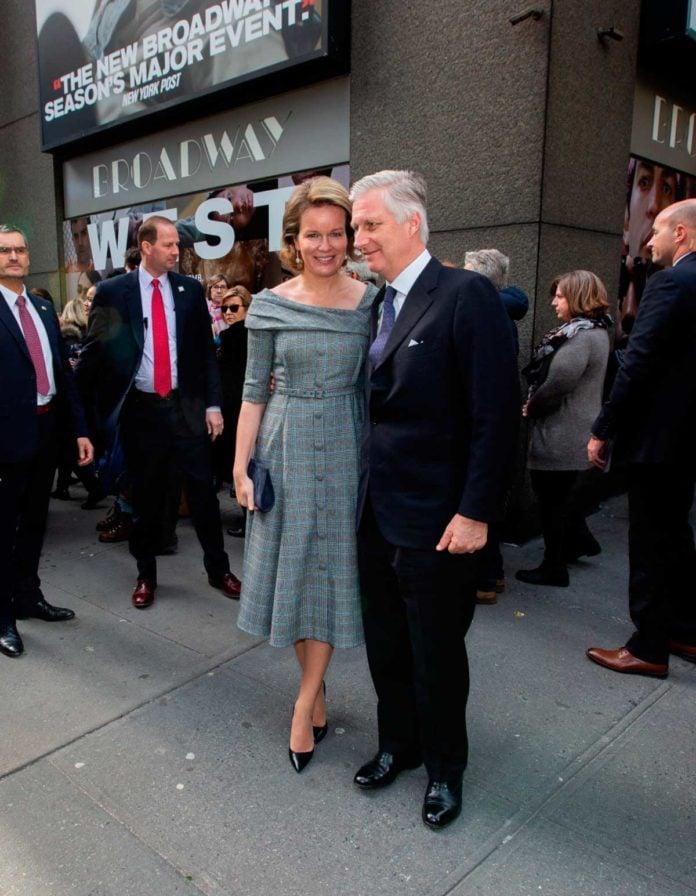 Matilde y Felipe de Bélgica, dos enamorados en Broadway 1