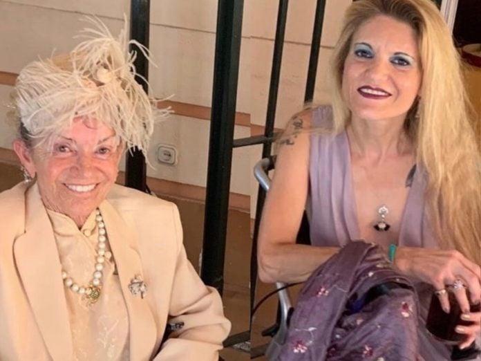 Cristina de Borbón: las lágrimas de Ágatha Ruiz de la Prada en su funeral 1