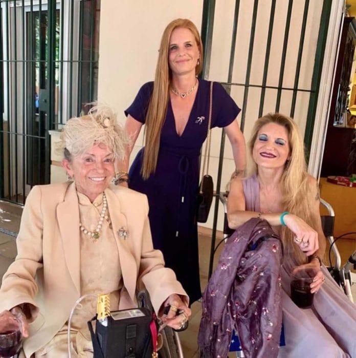 Cristina de Borbón: las lágrimas de Ágatha Ruiz de la Prada en su funeral 2