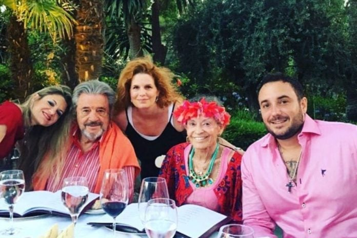 Cristina de Borbón: las lágrimas de Ágatha Ruiz de la Prada en su funeral 6