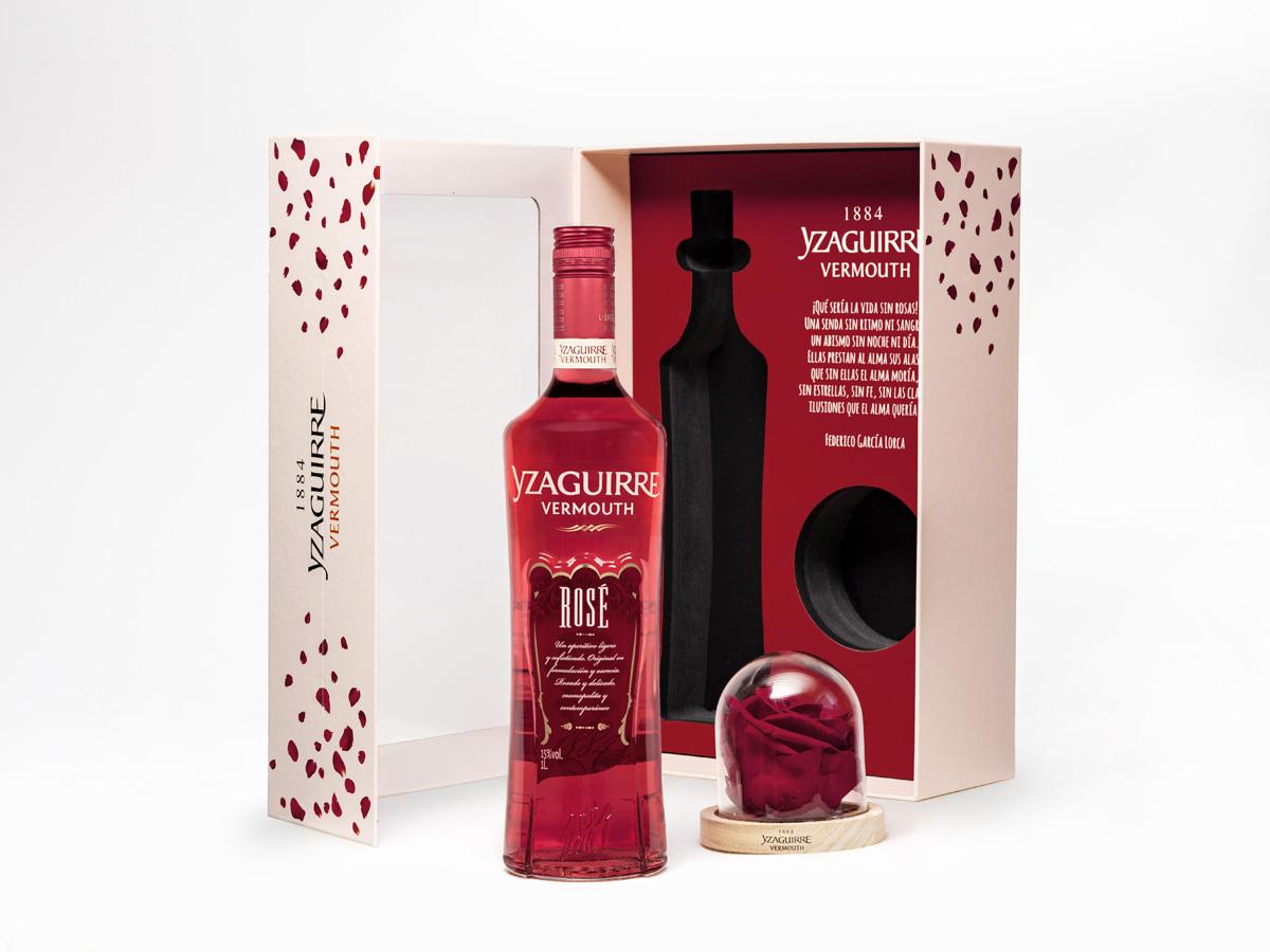 Bodegas Yzaguirre saca su lado más romántico y presenta una edición limitada que incluye una rosa, símbolo eterno del amor