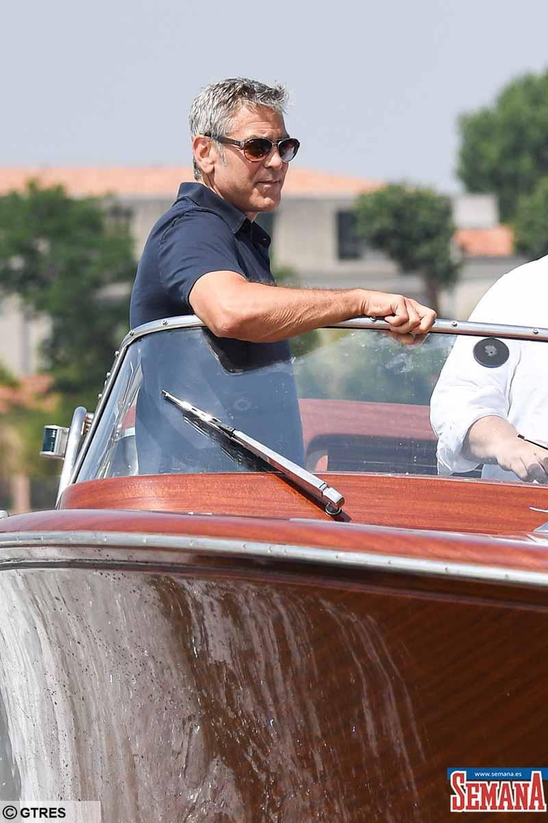 George Clooney: ya está en La Palma, donde filmará su nueva película 4