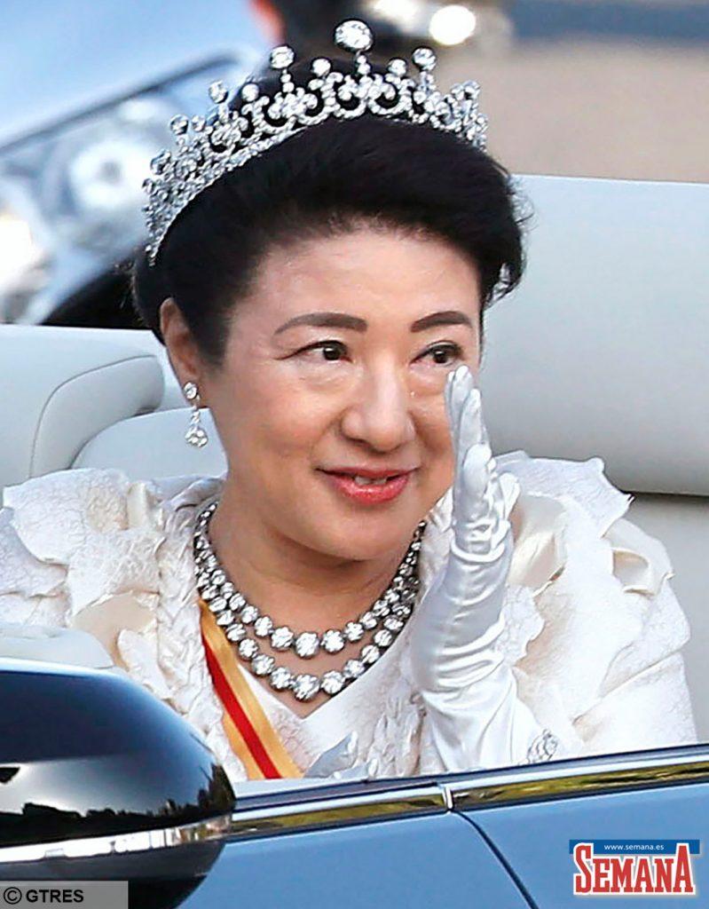"""La emperatriz Masako de Japón todavía tiene """"altibajos"""", según su esposo. 6"""
