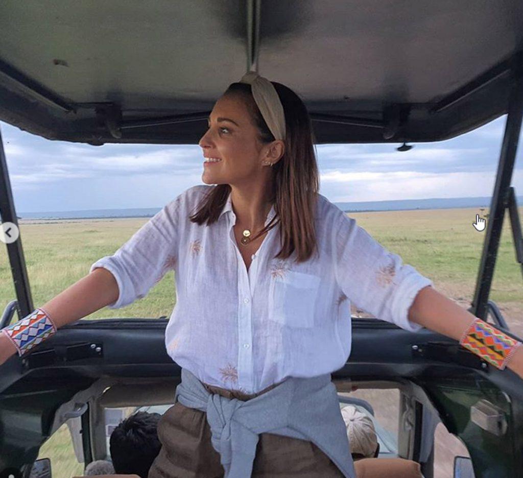 Paula Echevarría y Miguel Torres viven un emocionante viaje a África 2