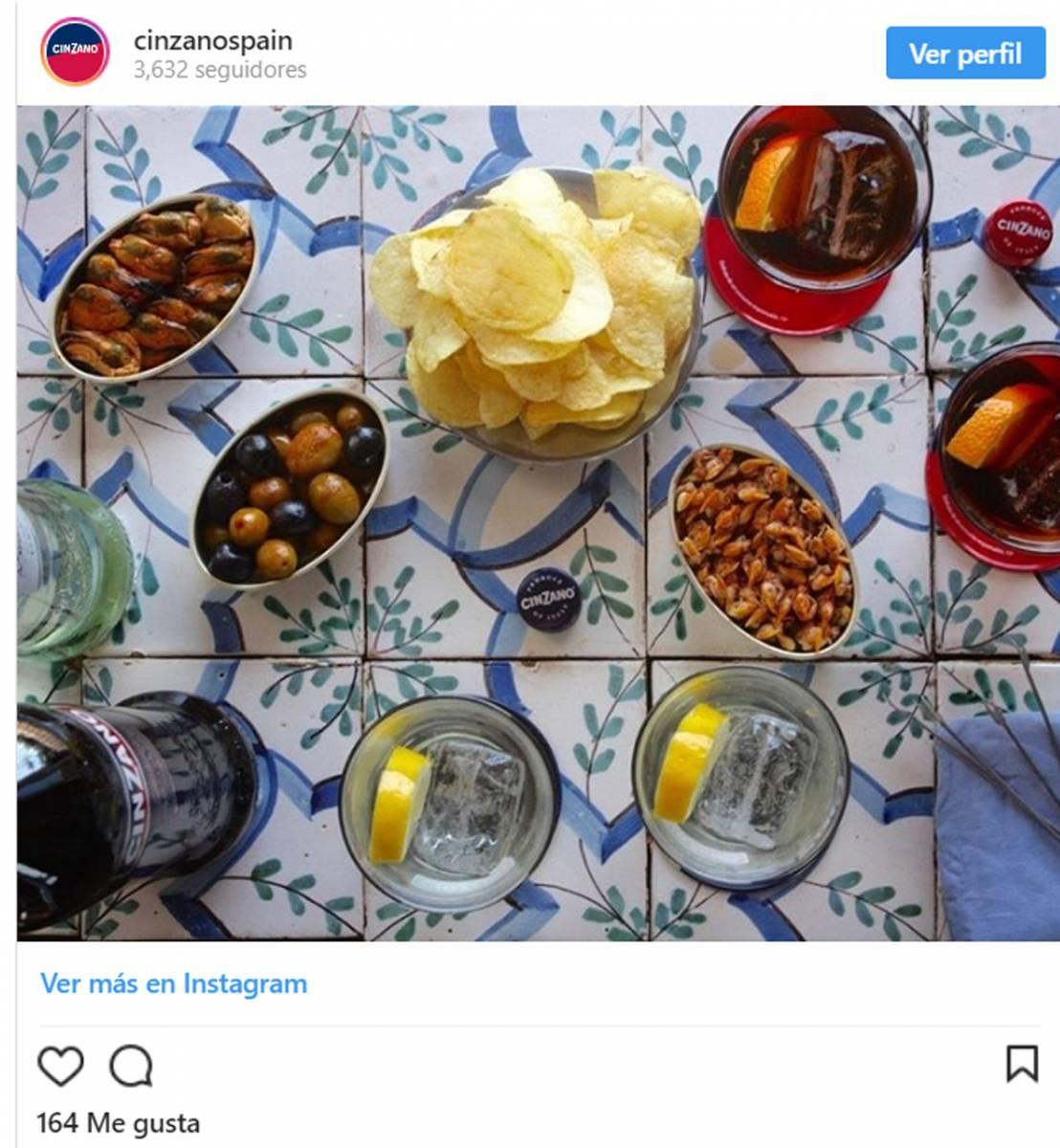vermut aperitivo prominente