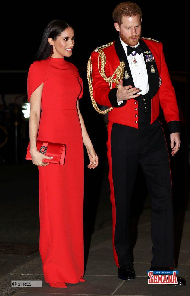 Una espectacular Meghan Markle eclipsa a su capitán, el príncipe Harry 2