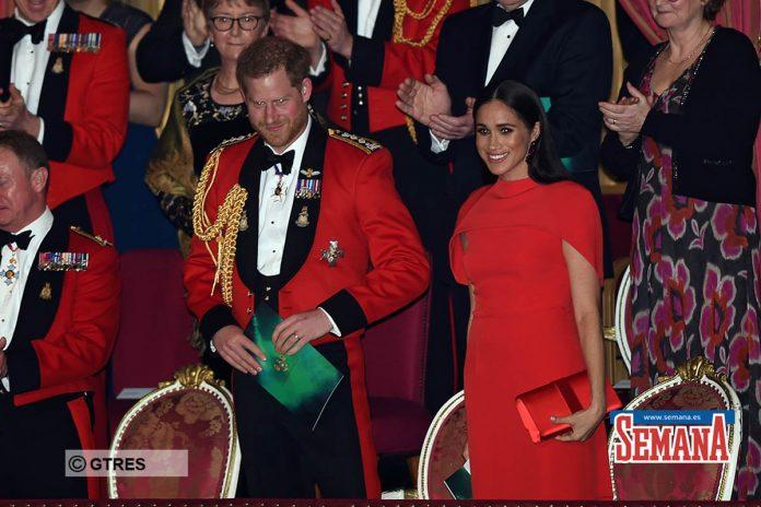 Una espectacular Meghan Markle eclipsa a su capitán, el príncipe Harry 6