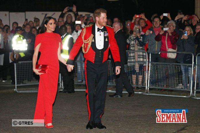 Una espectacular Meghan Markle eclipsa a su capitán, el príncipe Harry 4