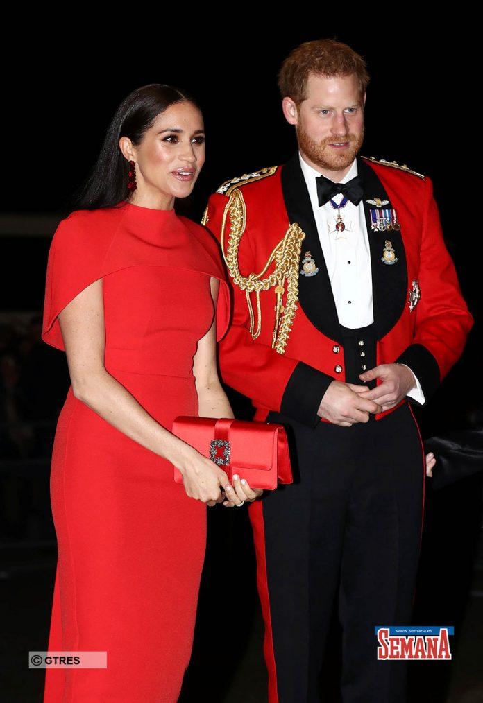 Una espectacular Meghan Markle eclipsa a su capitán, el príncipe Harry 10