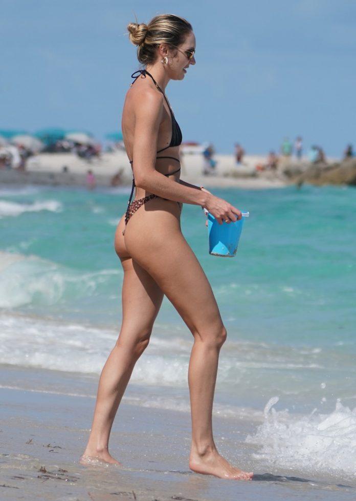 Candice Swanepoel: cazado saltando cuarentena en las playas de Miami 2