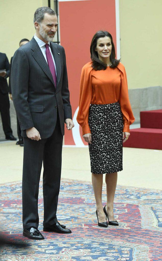 Reina Letizia, en cuarentena, pero también teletrabajando 2