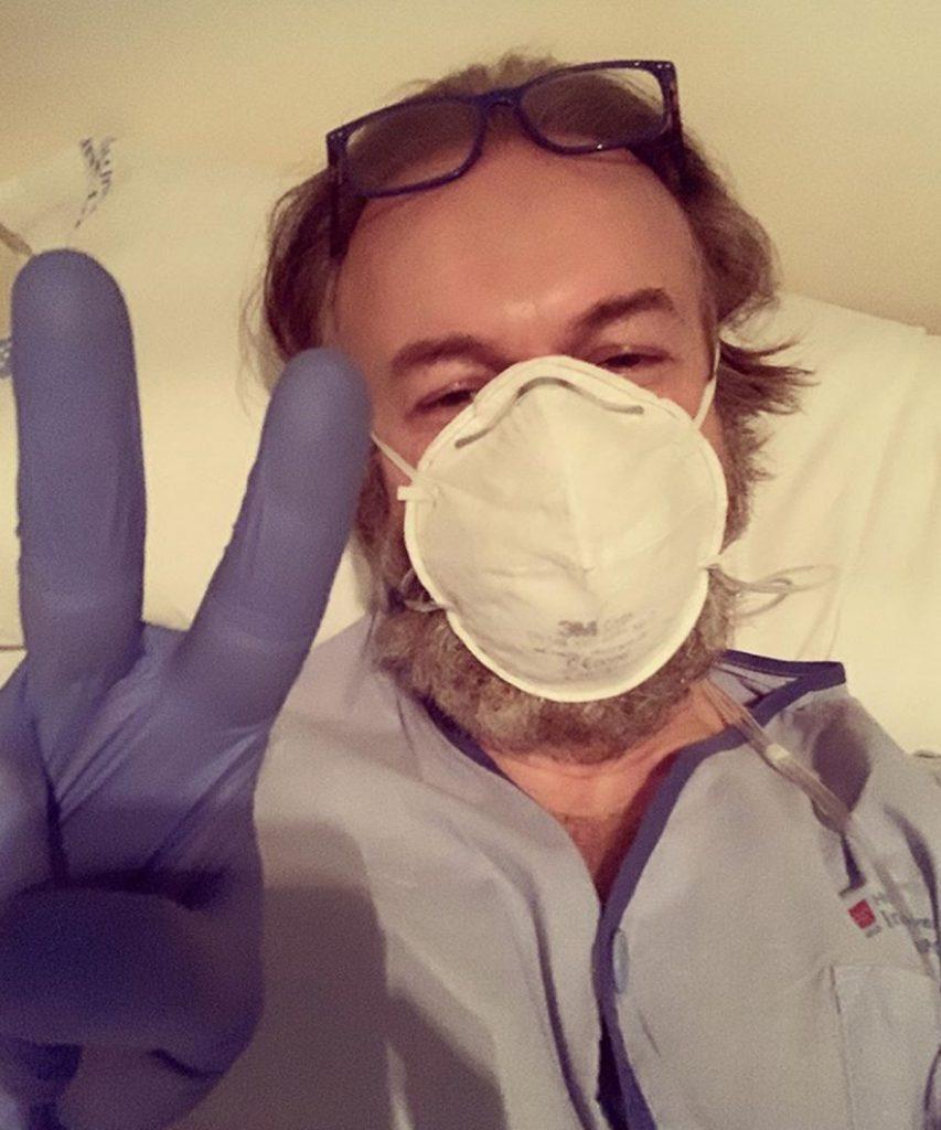 Tristán Ulloa: el actor, admitido después de dar positivo por coronavirus 2