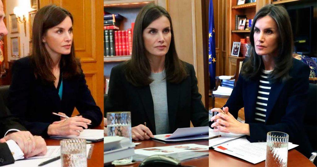 La reina Letizia repite su estrategia estudiada contra el coronavirus 4
