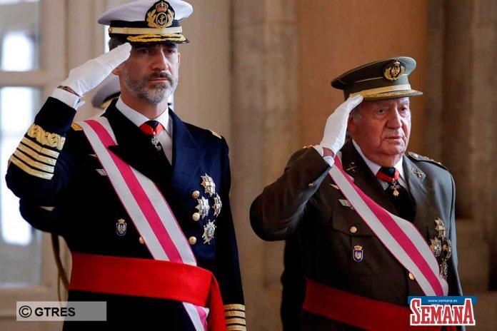El rey Felipe echa a su padre, el rey Juan Carlos, también desde su oficina 6