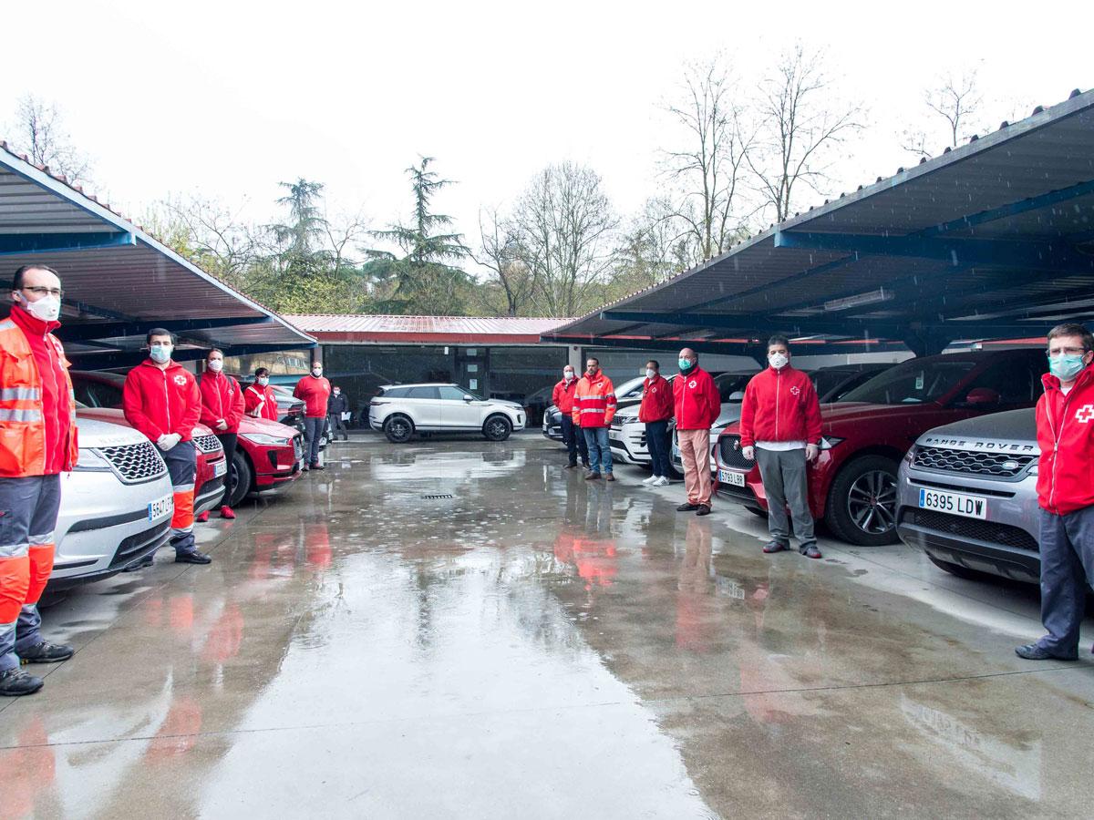 Jaguar Land Rover responde en la lucha contra el coronavirus