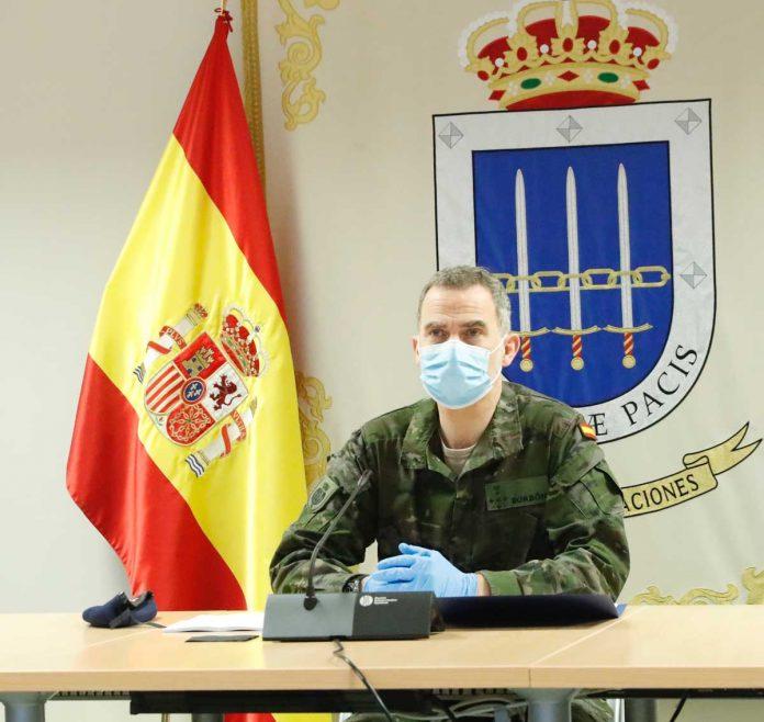 Rey Felipe, un soldado más en la batalla contra el coronavirus. 4