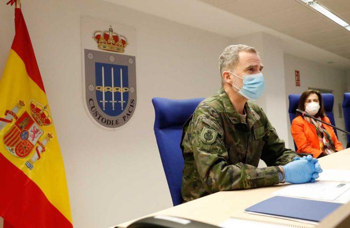 Rey Felipe, un soldado más en la batalla contra el coronavirus. 6