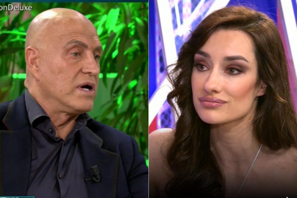 La razón por la que la novia de Kiko Matamoros, Marta López, ha roto su silencio en la tv 1