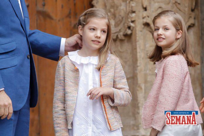 10 años del Domingo de Ramos de los Reyes en imágenes: así es como Leonor y Sofía han crecido 36