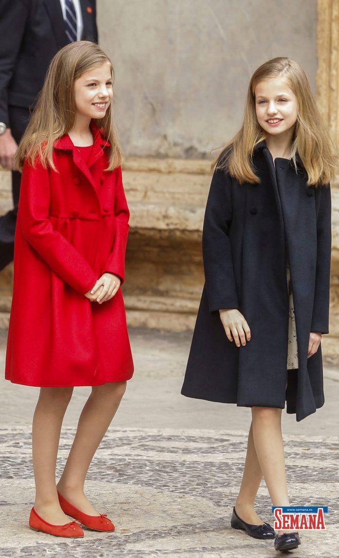 10 años del Domingo de Ramos de los Reyes en imágenes: así es como Leonor y Sofía han crecido 42