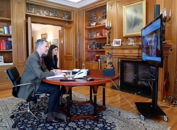 Reina Letizia, completamente dedicada a la lucha contra el coronavirus. 16