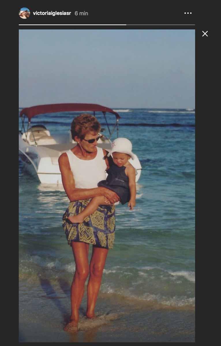 El emotivo mensaje de Cristina y Victoria, las gemelas de Julio Iglesias, después de perder a su abuela. 2