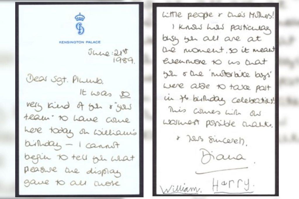 Sale a la luz una carta que Lady Di envió a la policía: revelamos el contenido 2