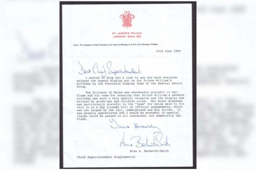 Sale a la luz una carta que Lady Di envió a la policía: revelamos el contenido 4
