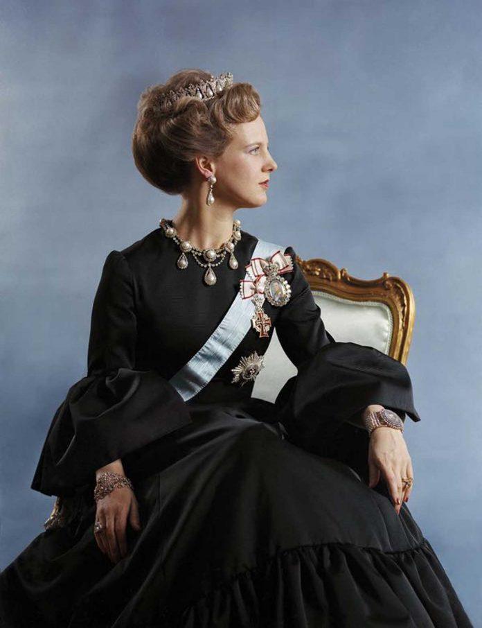 Los retratos más especiales de Margarita de Dinamarca para su 80 cumpleaños. 10