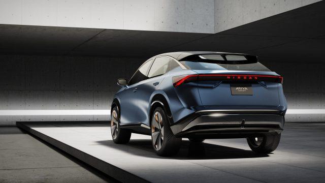 El nuevo Nissan Ariya Concept Car representa un cambio importante en la visión de Nissan para el futuro del vehículo eléctrico. ¡Qué! 1
