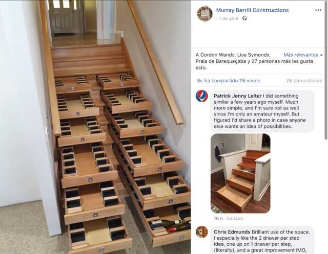 Transforme las escaleras de su casa en una bodega con capacidad para más de 150 botellas. ¡Qué! 3