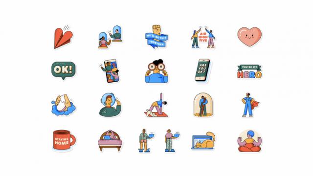 WhatsApp lanza un paquete con nuevos emoticones para representar el coronavirus. ¡Qué! 1