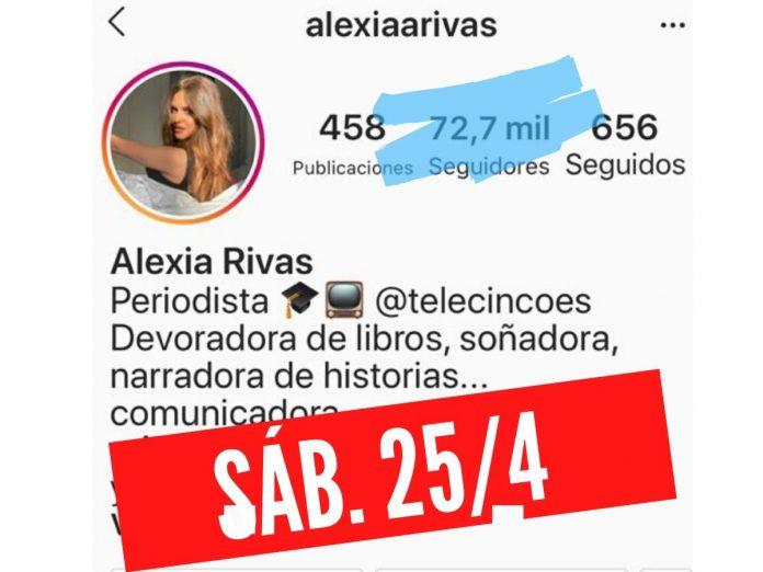 El rápido salto a la fama de Alexia Rivas, convertida en 'celebridad' en una semana 8