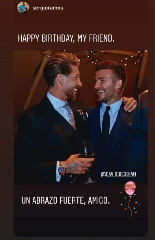Las tiernas felicitaciones de Victoria a David Beckham por su 45 cumpleaños. 4