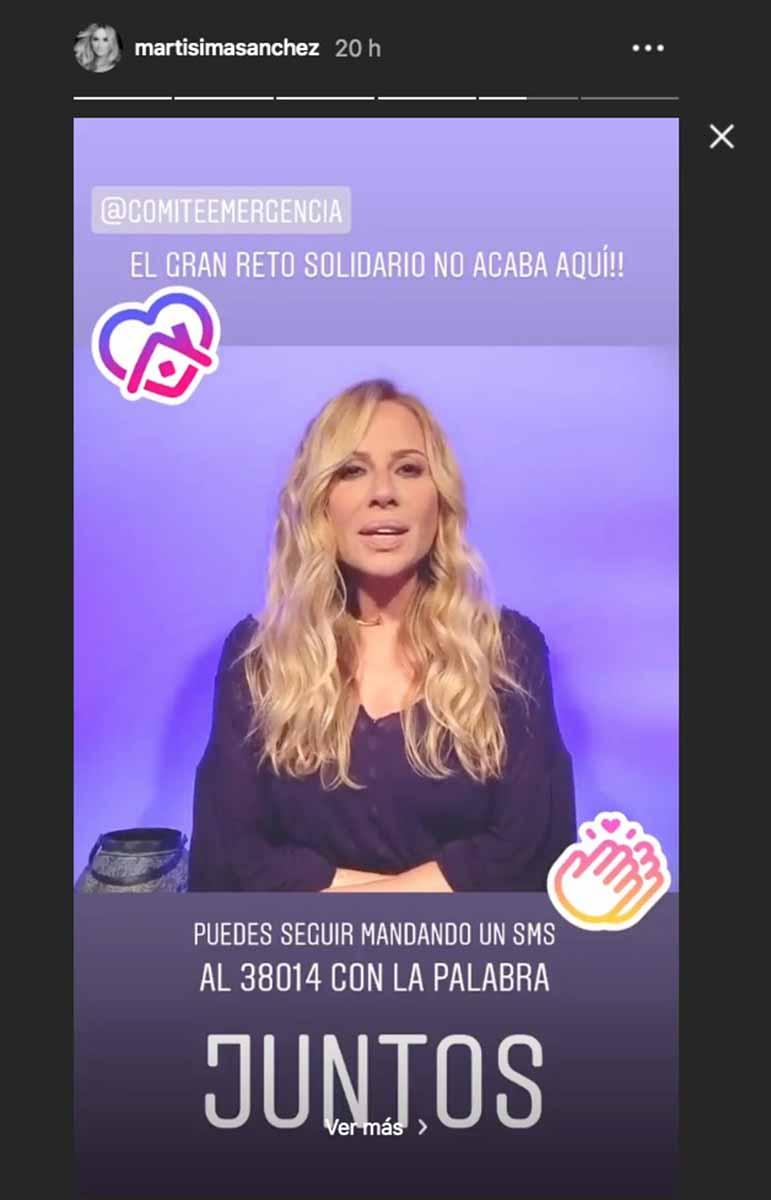"""Reflexión de Marta Sánchez sobre """"la luz después de este túnel"""" 8"""