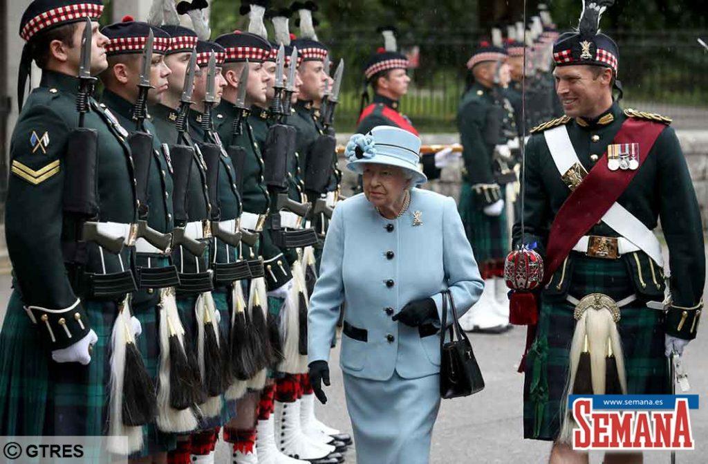 Homenaje de Isabel II a su padre en el 75 aniversario de la Segunda Guerra Mundial 4