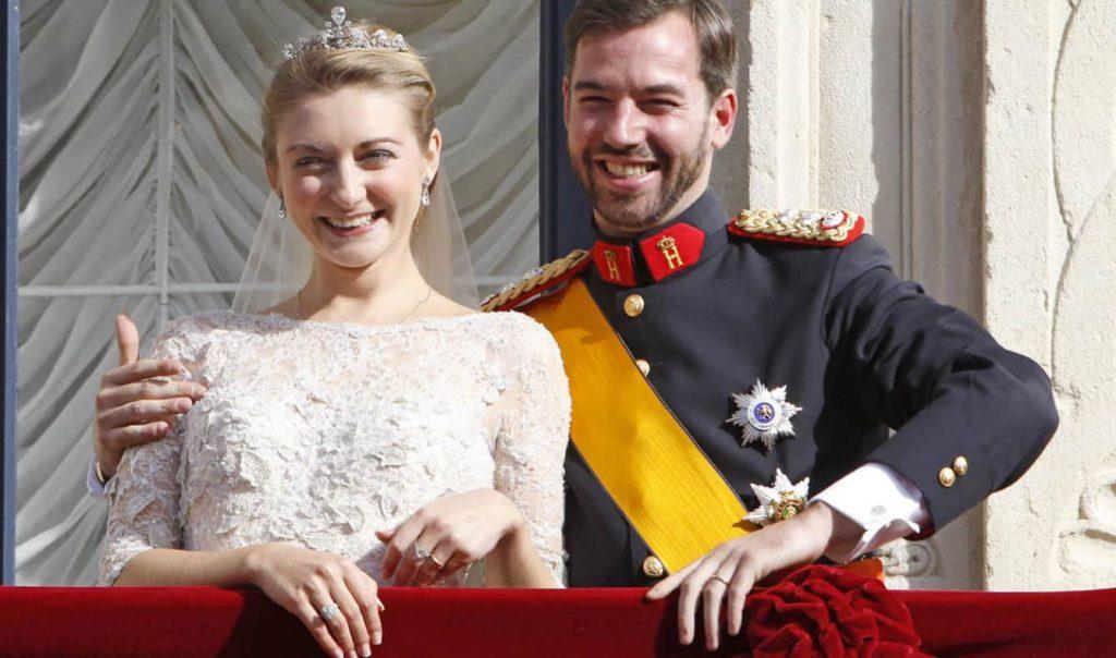 Primeras imágenes del hijo de William y Stéphanie de Luxemburgo 4