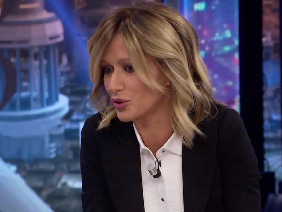 Susanna Griso muestra bajo qué condiciones el retorno que es grande en la tele 2