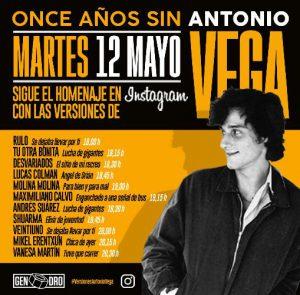 Artistas españoles se unen en un homenaje en línea después del 11 aniversario de la muerte de Antonio Vega - ¡Qué! 1