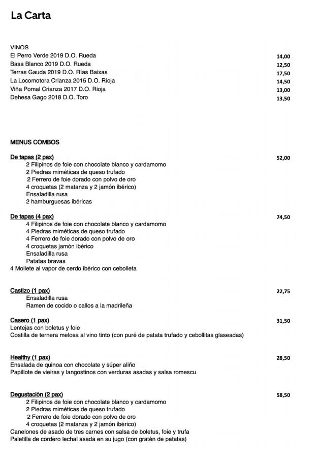 'Cuatromanos': los chefs Paco Roncero y Ramón Freixa hacen su debut con la entrega a domicilio - ¡Qué! 2