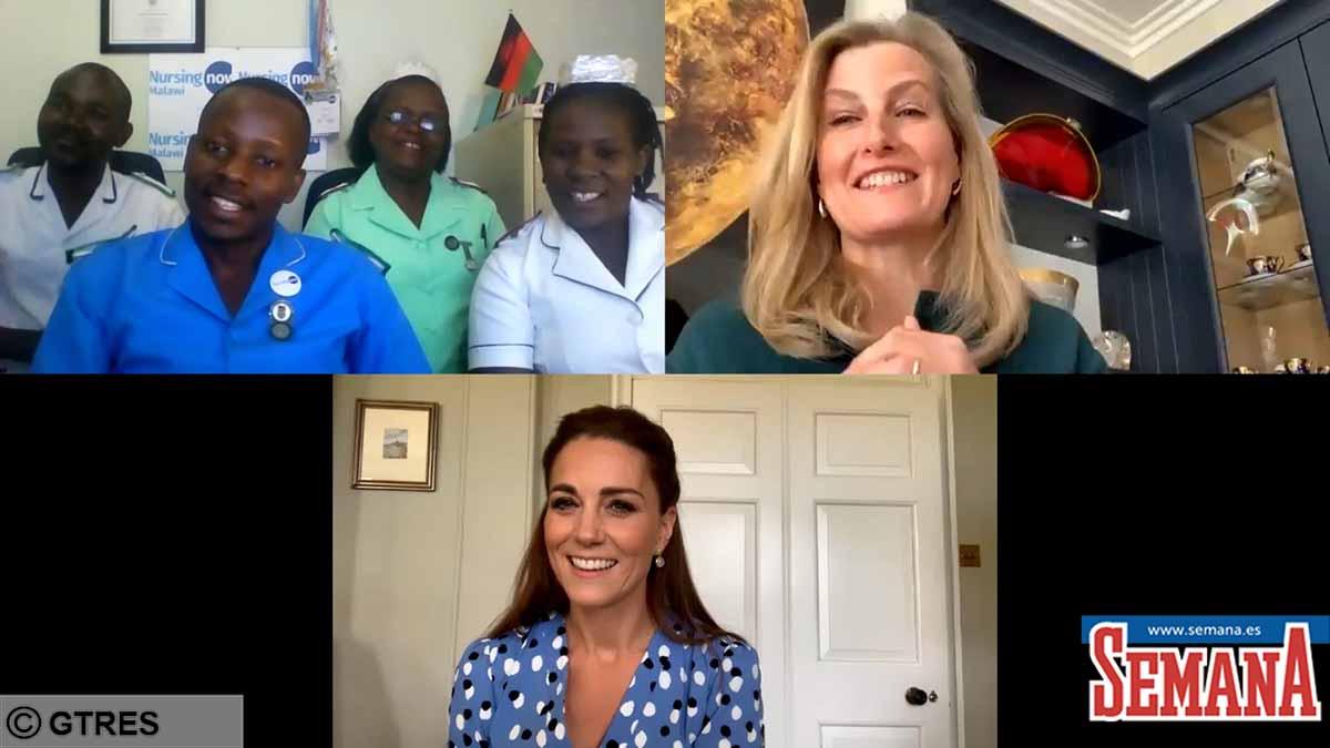 Kate Middleton y el mensaje de la familia real británica a las enfermeras 2