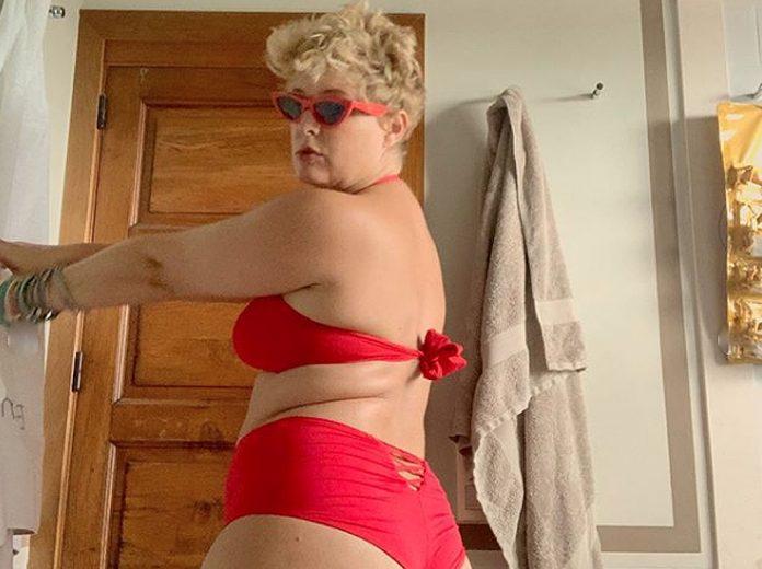 Todas las veces que Tania Llasera se ha jactado de sus kilos de más 20